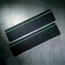 Glow-in-the-Dark Anti-Skid Cleats, Black, 150mm x 600mm x 24pcs