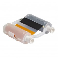 Black/Orange Ribbon, B30-R10000-KO-16, 400mm panels x 60m