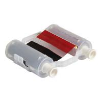 Black/Red Ribbon, B30-R10000-KR-16, 400mm panels x 60m