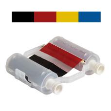 Black/Red/Yellow/Blue Ribbon, B30-R10000-KRYB-16, 400mm panels x 60m