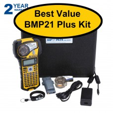 Brady BMP21 Plus Label Printer Starter Kit
