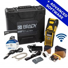 Brady BMP61 Label Printer, Wi-Fi, Advanced Software (BMP61-QWERTY-UK-W-PWID)