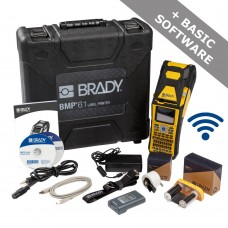 Brady BMP61 Label Printer with Wi-Fi (BMP61-QWERTY-UK-W)