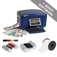 Brady BBP35 - Multicolour Sign and Label Printer, STARTER PACK