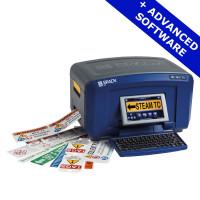Brady BBP37 - Multicolour & Cut Printer with Advanced SFID Software, BBP37-QY-UK-SFIDS