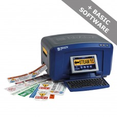 Brady BBP37 - Multicolour & Cut Sign and Label Printer, UK - QWERTY