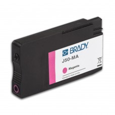 BradyJet J5000 Pigment Ink Cartridge, MAGENTA (J50-MA)