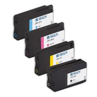 BradyJet J5000 Pigment Ink Cartridges, MULTI-PACK (J50-CMYK)