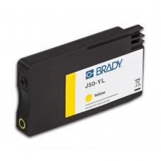 BradyJet J5000 Pigment Ink Cartridge, YELLOW (J50-YL)