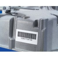 White Gloss Polyester labels, 50.8mm(W) x 25.4mm(H) x 100 labels (PTL-20-423)