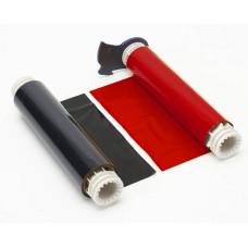BBP85/Powermark ribbon - Black/Red 220mm, B85-R-220x60-BK/RD-380P