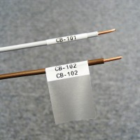 BMP41/51/53 Self-Lam White 3-5mm wire diameter 19mm(W) x 25mm(H) 200 labels (M-48-427)