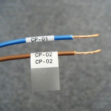 BMP61 Self-lam White 2.0-3.0mm wire diam 12.7mm(W) x 19.1mm(H) x 500 labels (PTL-11-427)