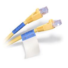 Self-lam Blue 4.0-8.1mm wire diam 25.4mm(W) x 38.1mm(H) x 250 labels (PTL-31-427-BL)