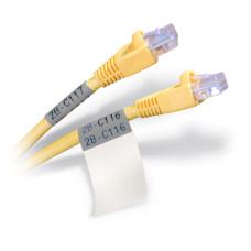 Self-lam Grey 4.0-8.1mm wire diam 12.7mm(W) x 38.1mm(H) x 500 labels (PTL-29-427-GY)