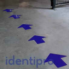 Toughstripe Floor Arrows 51mm x 127mm - Blue