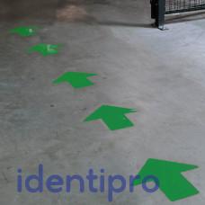 Toughstripe Floor Arrows 51mm x 127mm - Green