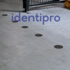 Toughstripe Floor Dots 89mm Diameter - Black