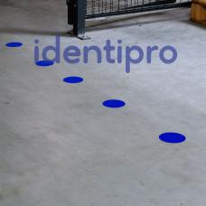 Toughstripe Floor Dots 89mm Diameter - Blue