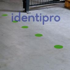 Toughstripe Floor Dots 89mm Diameter - Green