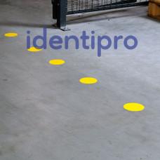 Toughstripe Floor Dots 89mm Diameter - Yellow