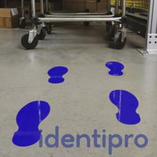Toughstripe Floor Footprint Shapes 254mm x 89mm - Blue