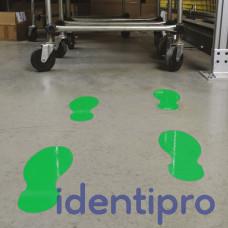 Toughstripe Floor Footprint Shapes 254mm x 89mm - Green