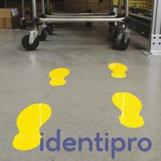 Toughstripe Floor Footprint Shapes 254mm x 89mm - Yellow