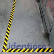 Toughstripe Floor Tape 51mm x 30m - Black/Yellow