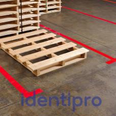 Toughstripe Floor Tape 51mm x 30m - Red