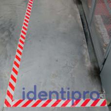 Toughstripe Floor Tape 51mm x 30m - Red/White